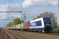 První přímý nákladní vlak vyrazil z Prahy do Číny