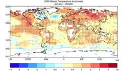 Rok 2015 bude pravděpodobně nejteplejším v historii