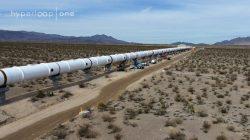 Hyperloop One ukázal testovací dráhu