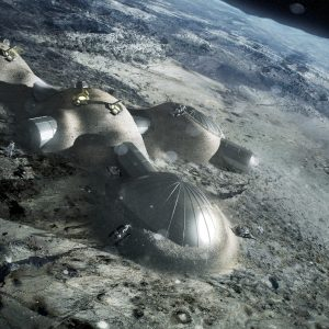 Multi-dome_base_being_constructed