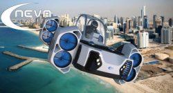 AirQuadOne, aneb elektrická létající čtyřkolka.