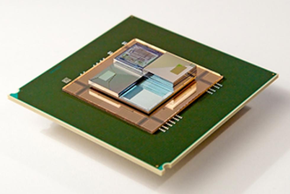 Průtoková baterie chladící čip