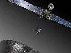 Sonda Rosetta ukázala změny na povrchu komety