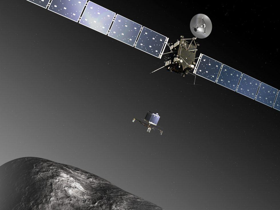 Rosetta a Philae na kometě