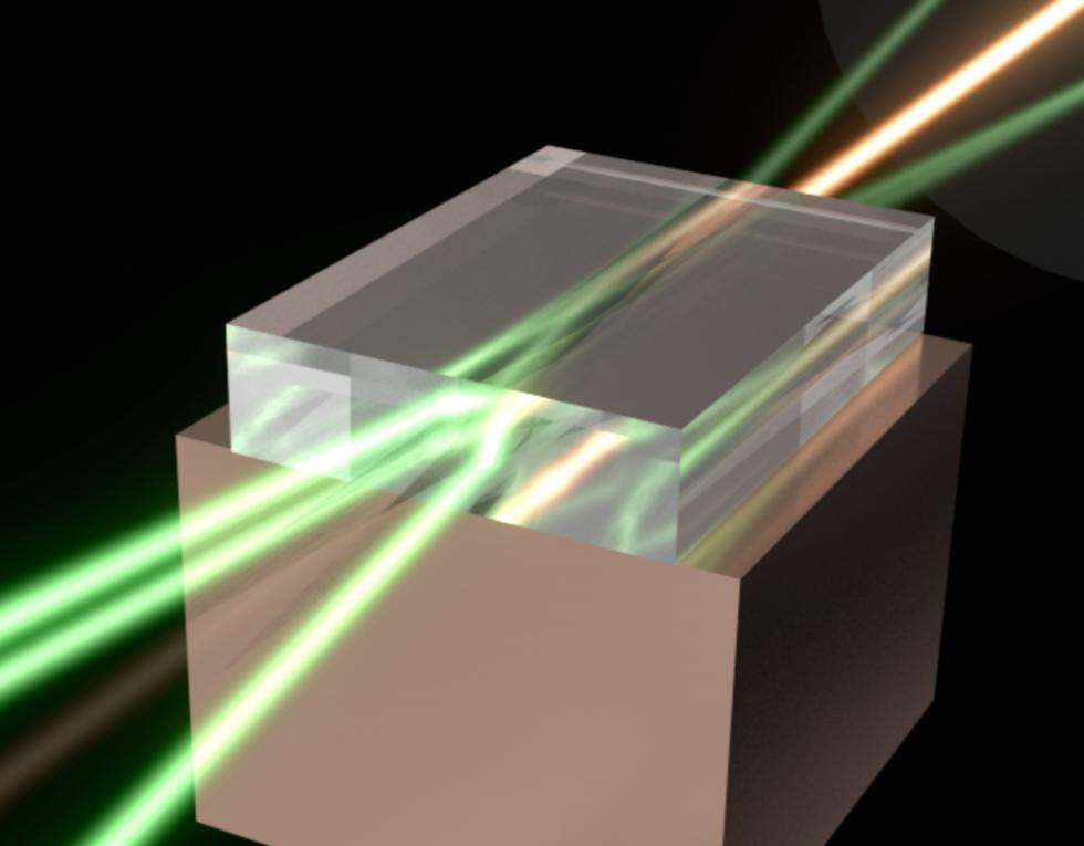 Spojený laser