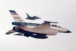 Robotické stíhačky F-16 v boji?