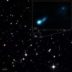 Záření z Velkého třesku odhalilo černou díru