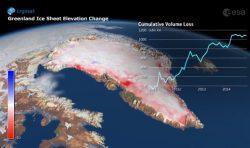 Ledovce v Grónsku mizejí před očima