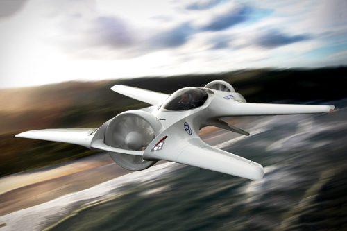 DeLorean vyvíjí létající automobil