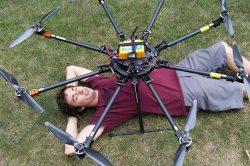 Drony míří do televize