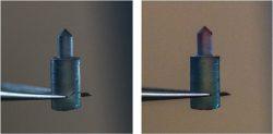 Materiál z hedvábí může mít naprogramované funkce