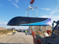 Úspěšný test Hyperloopu