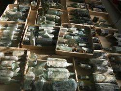 Místo kamenných nástrojů archeologové našli lahve z první světové války
