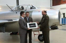 Přírůstek Vojenského historického ústavu: Opravená stíhačka MiG-15