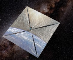 Budou vesmír brázdit plachetnice?