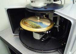 Umělecká díla prozkoumá laser