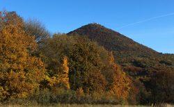 České středohoří nabízí díky vulkanické činnosti ojedinělý ráz krajiny