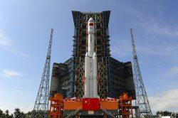 Úspěšný test čínské zásobovací rakety