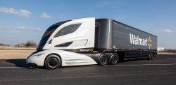 Autonomní kamion od Tesly