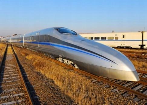 Číňané testují nejrychlejší rychlovlak